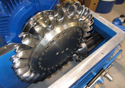 Fontanon Turbina (TN)  Pelton 47 kW